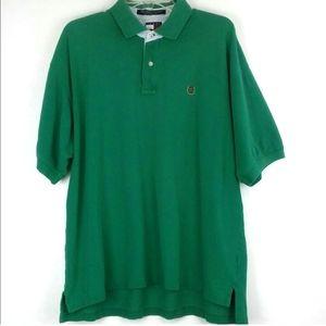 Tommy Hilfiger Lion Crest Polo Size XL Green